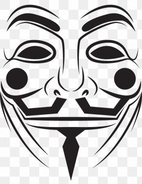 Anonymous Mask - T-shirt Man Is Least Himself When He Talks In His Own Person. Give Him A Mask, And He Will Tell You The Truth. Guy Fawkes Mask Anonymous PNG