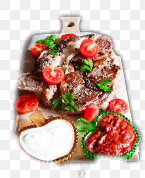 Barbecue Grill Cuisine - Barbecue Grill Kebab Beefsteak Tikka Meat PNG