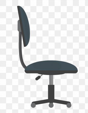 Black Office Chair Lift - Office Chair Desk PNG