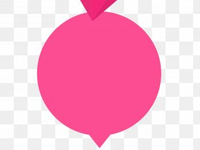 Pink Bubbles - Heart Red Circle Pattern PNG