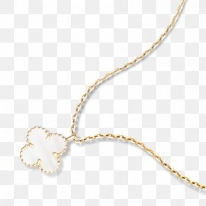 Necklace - Van Cleef & Arpels Charms & Pendants Necklace Colored Gold Nacre PNG