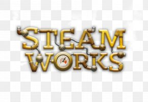 Hologram - Video Game Logo Steam Works Font PNG