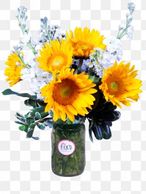 Flower - Common Sunflower Flower Bouquet Cut Flowers Floral Design PNG