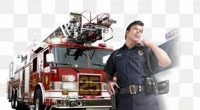 Fire Truck - Fire Engine Firefighter Fire Department Truck Ambulance PNG