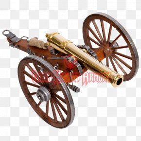 United States - American Civil War United States Artillery Twelve-pound Cannon PNG