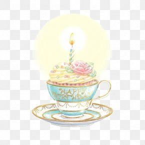 Cupcake - Birthday Cake Greeting Card Happy Birthday To You Teacup PNG