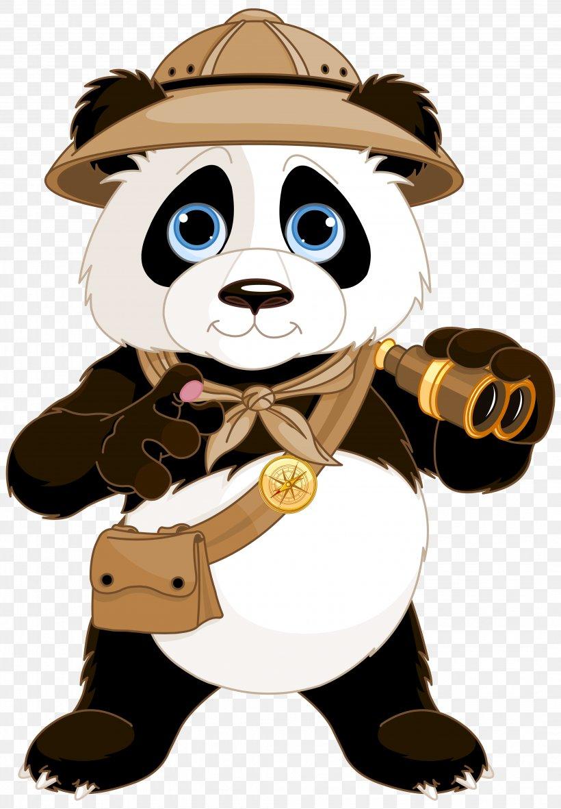Giant Panda Red Panda Bear Clip Art Png 4288x6178px Watercolor Cartoon Flower Frame Heart Download Free