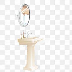 Vector Toilet - Bathroom Mirror PNG