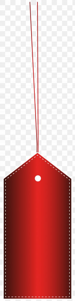 Red Template Label Transparent Clip Art Image - Product Red Angle Font PNG