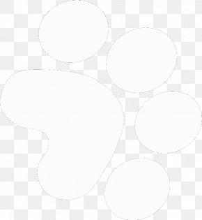 Dog Paw Print Stencil - Circle Angle Pattern PNG