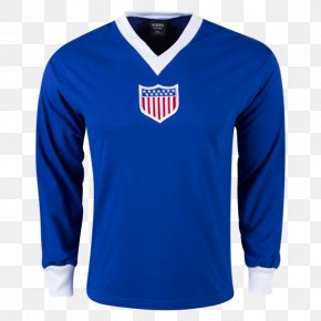 T-shirt - T-shirt 1930 FIFA World Cup United States Men's National Soccer Team Sleeve Jersey PNG