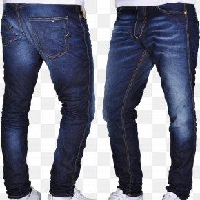Jeans - Jeans Denim Slim-fit Pants Pocket PNG