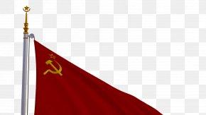 Soviet Union - Flag Of The Soviet Union Tajik Soviet Socialist Republic Red Flag PNG