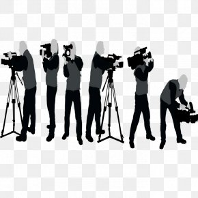 Photographer Silhouette - Photography Silhouette Camera Operator PNG