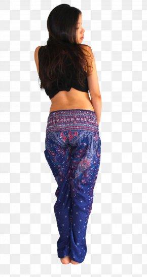 Peafowl - Leggings Harem Pants Clothing Jeans PNG