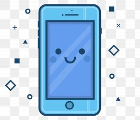 Cartoon Mobile Phone Vector - Feature Phone Smartphone Chinese Illustration Cartoon Mobile Phone PNG