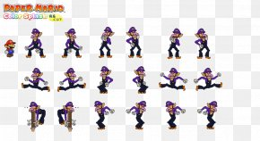 Purple Splash - Paper Mario: Color Splash Paper Mario: Sticker Star New Super Mario Bros. U PNG