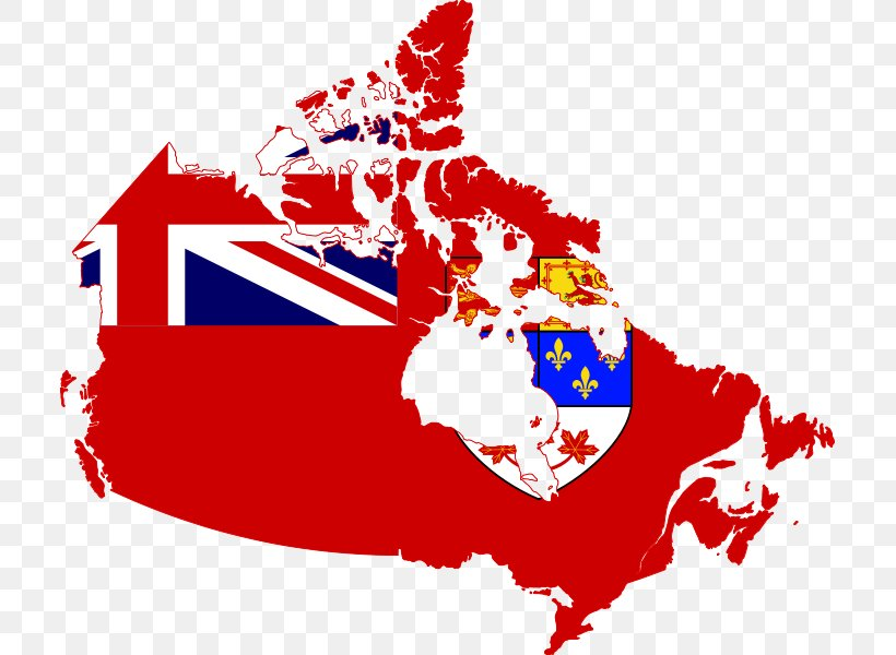 Canada Flag Of The United States Map, PNG, 709x600px, Canada ...