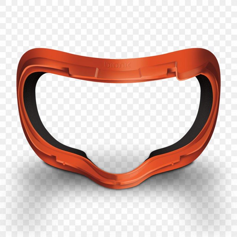 Oculus Rift Samsung Gear VR Oculus VR Virtual Reality PlayStation VR, PNG, 1000x1000px, Oculus Rift, Goggles, Installation Art, Oculus Vr, Orange Download Free