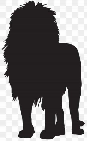 Lion Silhouette Transparent Clip Art Image - Lion Silhouette Clip Art PNG