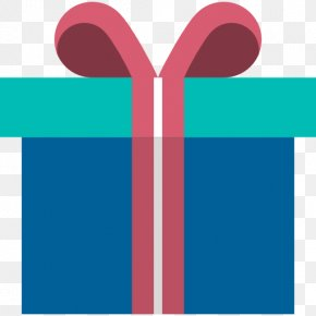 Gift - Gift Wrapping Birthday Box Icon PNG