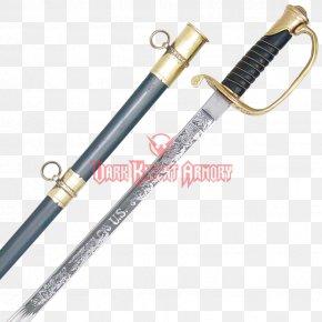 Civil War Weapons - Sabre American Civil War United States Of America Confederate States Of America Sword PNG