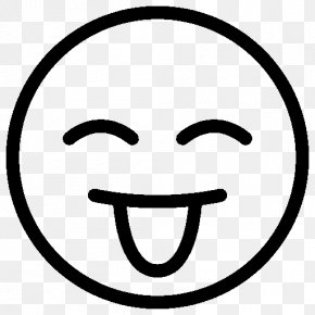 Tongue - Emoticon Tongue Smiley PNG
