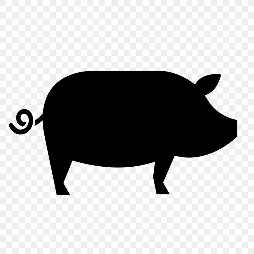 Open-source Unicode Typefaces Pig Food Computer Font, PNG, 1200x1200px, Opensource Unicode Typefaces, Black, Black And White, Business, Computer Font Download Free