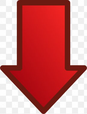 Down Arrow Images - Arrow Photography Red PNG