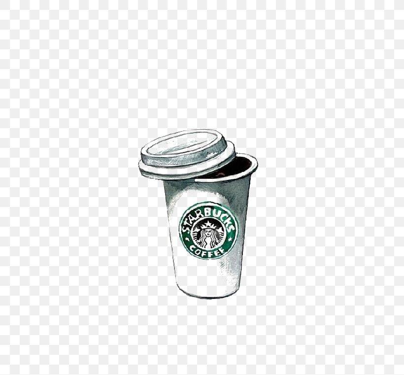 Coffee Tea Latte Starbucks Cafe, PNG, 564x761px, Coffee