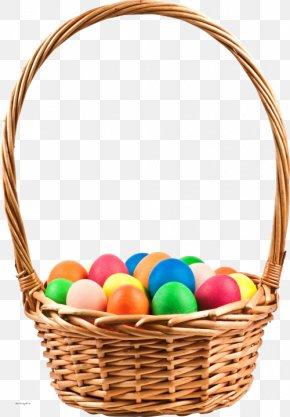 Egg Basket - Easter Bunny Basket Easter Egg Wicker PNG