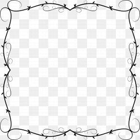 Line Art - Picture Frames Clip Art PNG