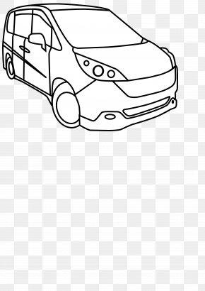Car - Concept Car Ausmalbild Coloring Book Vehicle PNG
