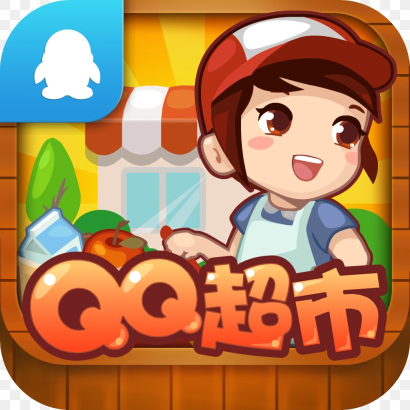Tencent Qq Iphone 5 Restaurant Story Hot Rod Cafe Mobile Game Png 1024x1024px Tencent Qq Android