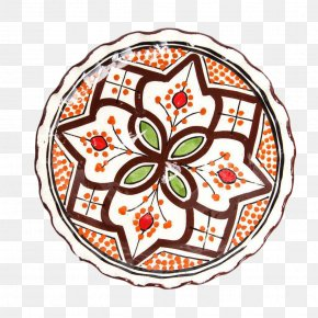 Hand-painted Arab Woman - Plate Platter Ceramic Tableware Food PNG