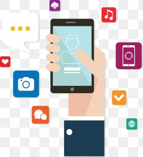 Software For Mobile Devices Fig. - Android Mobile App Development SMS Icon PNG