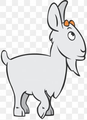 Goat - Goat Sheep Whiskers Clip Art Animal PNG