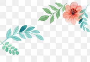 Watercolor Flowers - Watercolor Painting Jewellery Computer File PNG