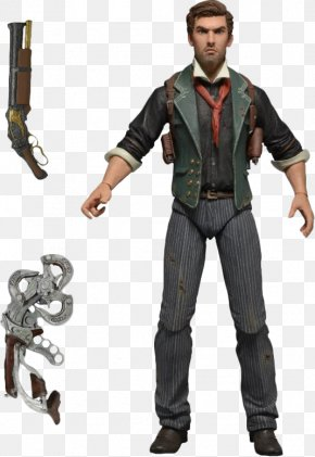 Spa Figures - BioShock Infinite Video Game Action & Toy Figures National Entertainment Collectibles Association PNG