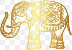 India - Indian Elephant Clip Art Image PNG