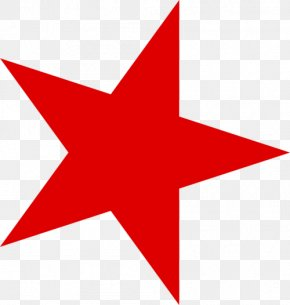 Red Star - Red Star Star And Crescent Five-pointed Star PNG