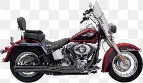 Motorcycle - Exhaust System Softail Harley-Davidson Motorcycle Fuel Injection PNG