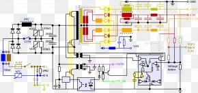 Circuit Diagram - Power Supply Unit Circuit Diagram Wiring Diagram Power Converters Electronic Circuit PNG