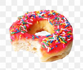 Bite Of The Bagel - National Doughnut Day Giphy Glaze PNG