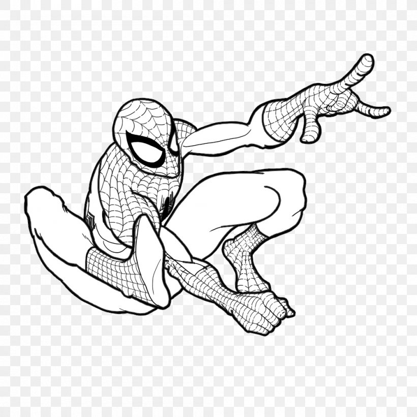 spider man drawing deadpool coloring