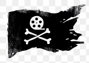 Flag - Jolly Roger Piracy Decal Clip Art PNG