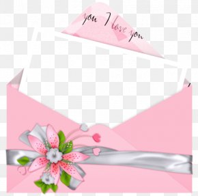 Pink Letter I Love You Picture - Love Letter Romance Friendship PNG