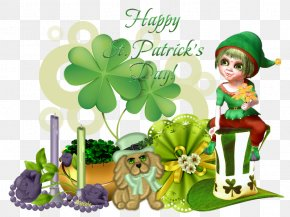 Saint Patrick's Day - Shamrock Cartoon Saint Patrick's Day Clip Art PNG