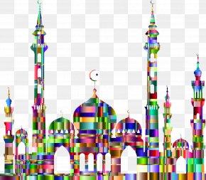 Disney Land - Mosque Islam Clip Art PNG