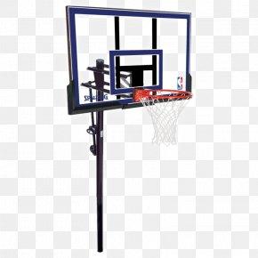 Basketball Goal - Backboard Spalding Golden Eagles Men's Basketball Spalding Golden Eagles Men's Basketball Breakaway Rim PNG